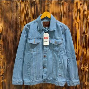 Harga jaket jeans pria denim jaket termurah kekinian termurah original   bio blitz   HARGALOKA.COM