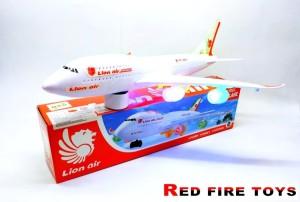 Harga mainan pesawat lion air 747 300li termurah bersuara dan lampu | HARGALOKA.COM