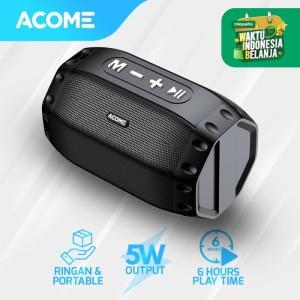 Harga acome speaker bluetooth 5 0 hi fi sound tws 5w portable a2   | HARGALOKA.COM