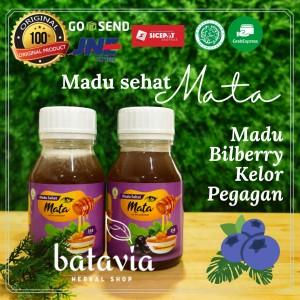 Harga madu sehat mata bilberry washfah 350gr eye suplement 100 | HARGALOKA.COM