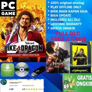 Harga yakuza 7 like a dragon legendary hero edition original game pc   dl | HARGALOKA.COM