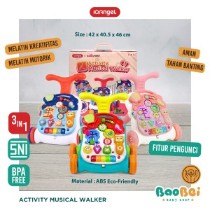 Harga push walker baby alat bantu jalan bayi dorongan bayi baby walker   | HARGALOKA.COM