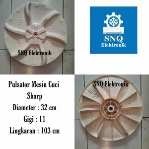 Harga pulsator mesin cuci sharp 1 tabung gigi 11 diameter 32   HARGALOKA.COM