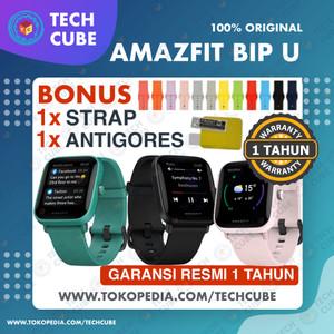 Harga amazfit bip u smartwatch official sport jam tangan digital smart watch   | HARGALOKA.COM