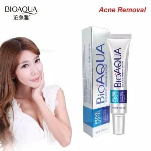 Harga krim penghilang jerawat bioaqua pure skin acne | HARGALOKA.COM