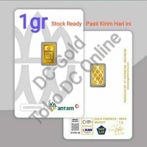 Harga emas 1 gram antam certicard press terbaru   certieye | HARGALOKA.COM