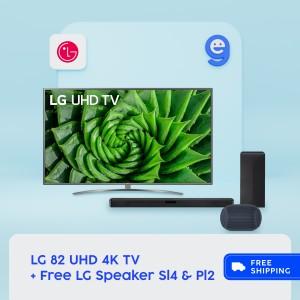 Harga lg 82un8100 82un8100ptb led smart tv uhd 4k 82 | HARGALOKA.COM