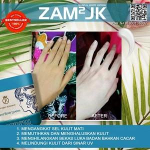 Harga zam2jk handbody whitening bpom   pemutih kulit | HARGALOKA.COM