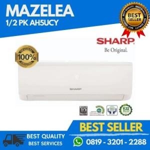 Harga ac sharp ah a5ucy ucyn 1 2 pk plus pasang promo price   HARGALOKA.COM