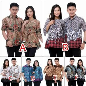 Harga baju batik couple batik couple keluarga   m baju | HARGALOKA.COM