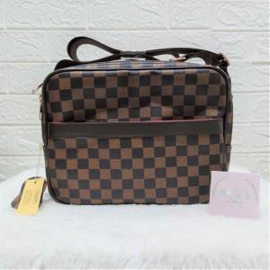 Harga tas fashion import sling pria wanita lv reporter | HARGALOKA.COM