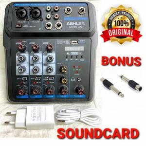 Harga ashley speedup4 mixer 4 channel | HARGALOKA.COM