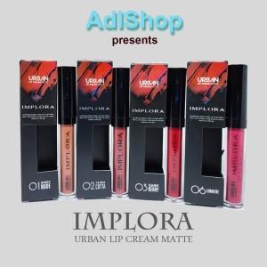 Harga implora urban lip cream matte   03 dark   HARGALOKA.COM