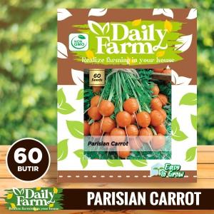 Harga daily farm   benih bibit wortel bulat  parisian | HARGALOKA.COM