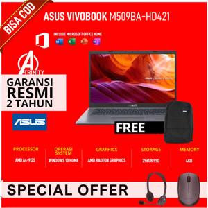 Harga laptop murah asus m509ba hd421 hd422 amd a4 4gb 256gb ssd hd w10   non bundling exreview   HARGALOKA.COM