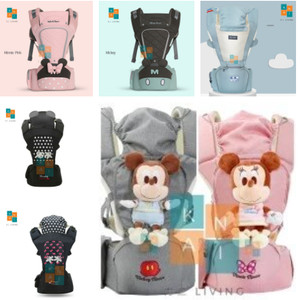 Harga gendongan bayi hipseat hip seat baby carrier original disney easyorder     HARGALOKA.COM