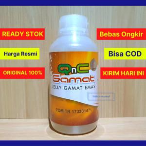 Harga jelly gamat qnc asli 100 teripang gamat emas 300 ml   kirim hari | HARGALOKA.COM