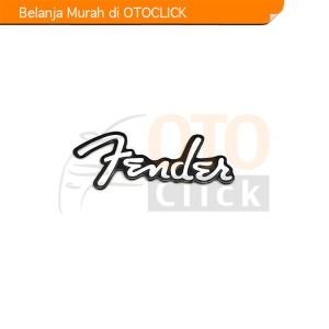 Harga emblem alumunium sticker decals 3d logo fender audio   HARGALOKA.COM