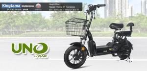 Harga sepeda listrik viar uno   original bergaransi   | HARGALOKA.COM