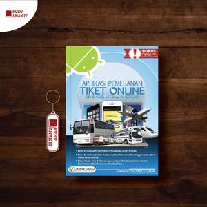 Harga buku aplikasi pemesanan tiket online berbasis web dan   HARGALOKA.COM