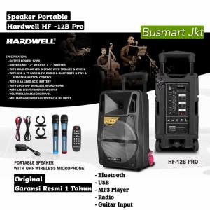 Harga speaker portable meeting hardwell hf12b hf 12b hf 12b pro   HARGALOKA.COM
