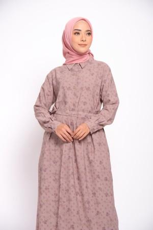 Harga zm zaskia mecca   gleen dusty pink dress   guntur garut   | HARGALOKA.COM