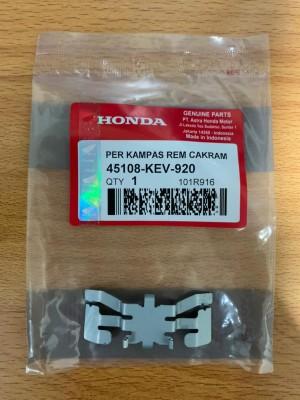 Harga ktm kev spring pad per kampas rem cakram dispad depan supra x fit | HARGALOKA.COM
