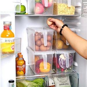 Harga kitchen storage food box organizer kulkas kotak penyimpanan | HARGALOKA.COM