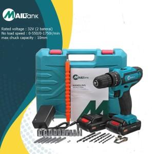 Harga mesin bor baterai tembok cordless drill 32v sh190 | HARGALOKA.COM