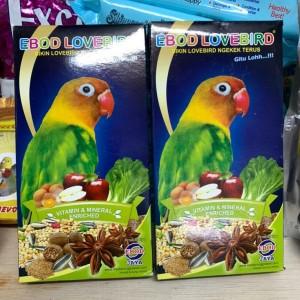 Harga makanan burung ebod lovebird harian lomba   HARGALOKA.COM