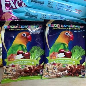 Harga pakan makanan harian lomba burung lovebird kemasan plastik ebod   HARGALOKA.COM