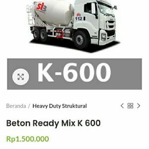 Info Ready Mix Beton Cor K300 9m3 Bp Matio Katalog.or.id
