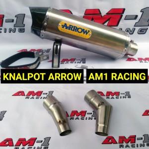 Harga knalpot arrow slip on ninja 250 fi carbu abs r25 | HARGALOKA.COM