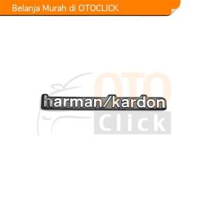 Harga emblem alumunium sticker decals 3d logo harman kardon audio   HARGALOKA.COM