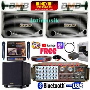 Harga paket sound system karaoke bmb 10 inch bass i | HARGALOKA.COM