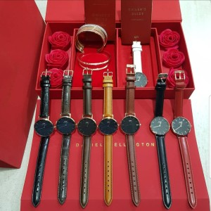 Harga limited jam dw valentine set gift edition watch cuff | HARGALOKA.COM