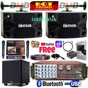 Harga paket speaker karaoke set bmb sound system bass vi | HARGALOKA.COM