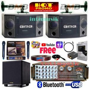Harga paket sound system karaoke bmb 8 inch bass iv | HARGALOKA.COM
