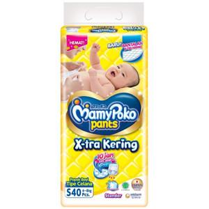 Harga popok bayi pampers popok bayi mamy poko tipe celana uk s 40 pcs   HARGALOKA.COM
