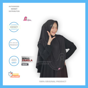 Harga jilbab kerudung jersey bergo daily syari pamela miulan   | HARGALOKA.COM