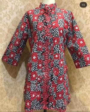 Harga blouse panjang batik full tulis lasem | HARGALOKA.COM