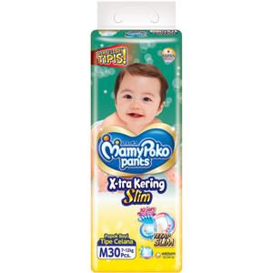 Harga popok bayi pampers popok bayi mamy poko tipe celana uk m 30 pcs   HARGALOKA.COM