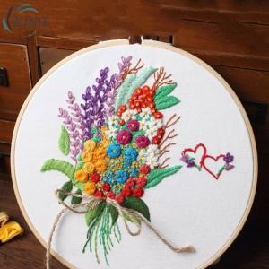 Harga paket embroidery hobi sulam bunga   HARGALOKA.COM
