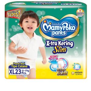 Harga popok bayi pampers popok bayi mamy poko tipe celana uk xl 23 pcs   HARGALOKA.COM
