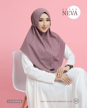 Harga bergo neva by alfasa hijabs   lavender | HARGALOKA.COM