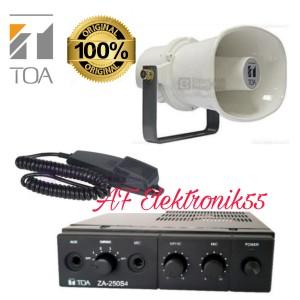 Harga paket ampli dan speaker toa za   250 s original horn zh 615 s 15 | HARGALOKA.COM