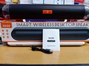 Harga speaker bluetooth sk 98 double speaker 2inch wireless | HARGALOKA.COM