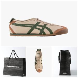 Harga sepatu onitsuka beige grass green original leather store guarantee   beige   HARGALOKA.COM
