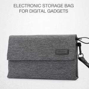 Harga tas organizer gadget travel bag bahan nilon multifunction gadget | HARGALOKA.COM