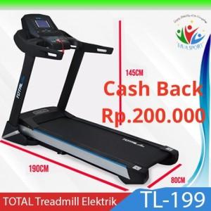 Harga alat fitness treadmill elektrik tl 199 alat olahraga gym | HARGALOKA.COM